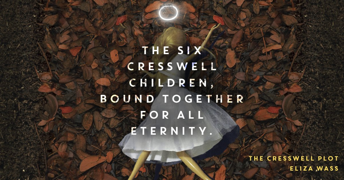 Want to win the fabulously creepy #CresswellPlot? RT & follow to enter -- TY @disneyhyperion for providing! Ends 6/8 https://t.co/48AA9u1Woe