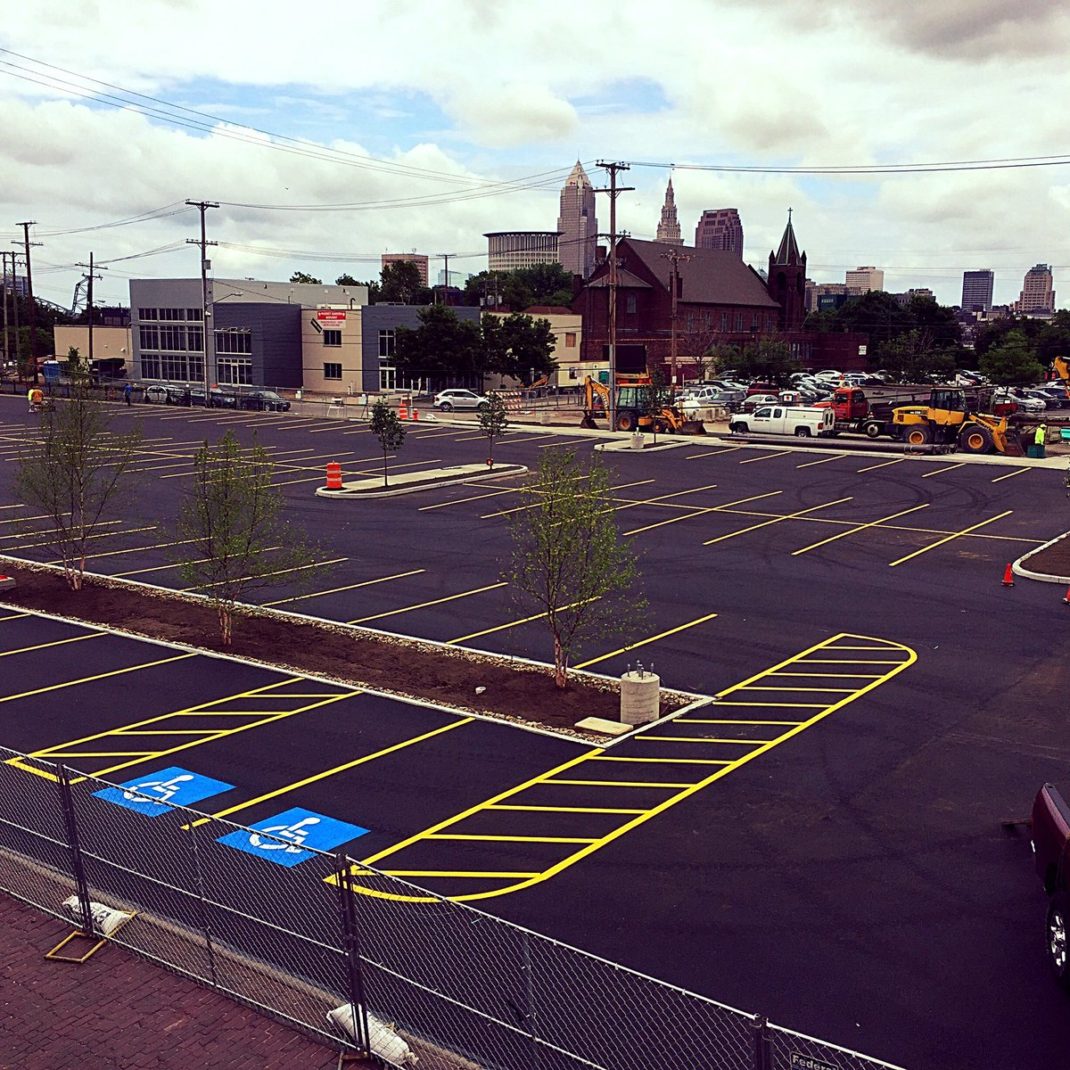 Parking lot phase 1 improvement/expansion nearly done! Next up, our Retail Store & Tours coming to @ohiocitytweets https://t.co/yiIp9Ahw9H