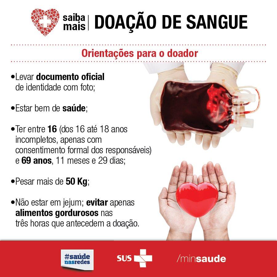 Vc ainda não é doador de sangue? Que tal começar e ajudar a salvar vidas? Confira algumas orientações e #doesangue.