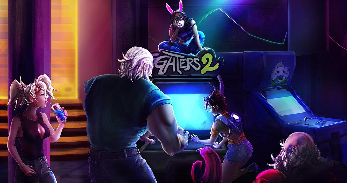 done. Hanamura Arcade #overwatchcontest @TwitchCreates @PlayOverwatch #overwatchfanart #esports #twitch #art https://t.co/IFjTb87JGk