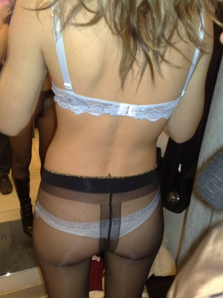 and panties Amateur pantyhose bra