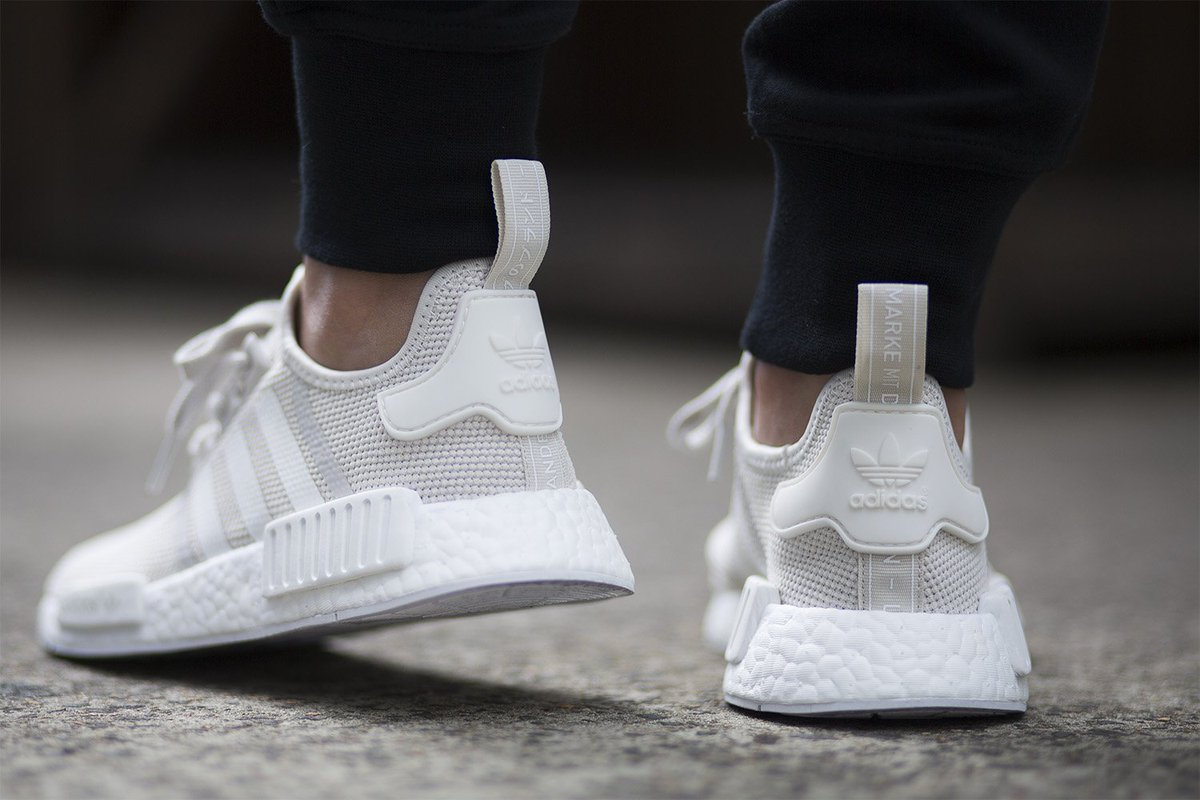 Adidas NMD R1 PK Tri Color White