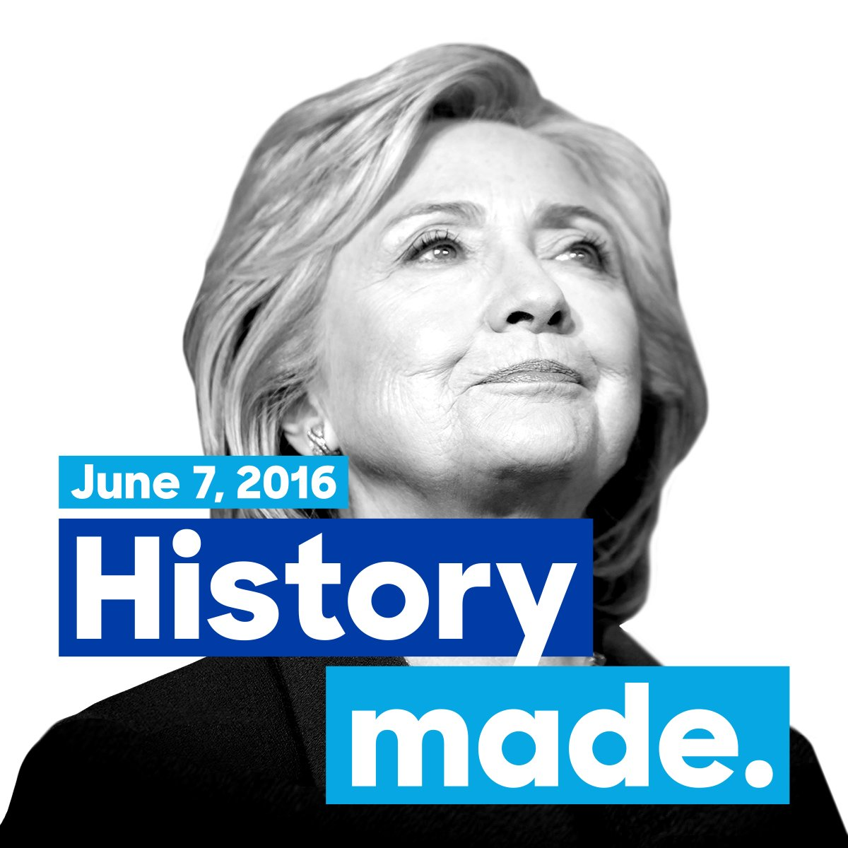 hillary clinton on twitter tonight we can say with pride that in