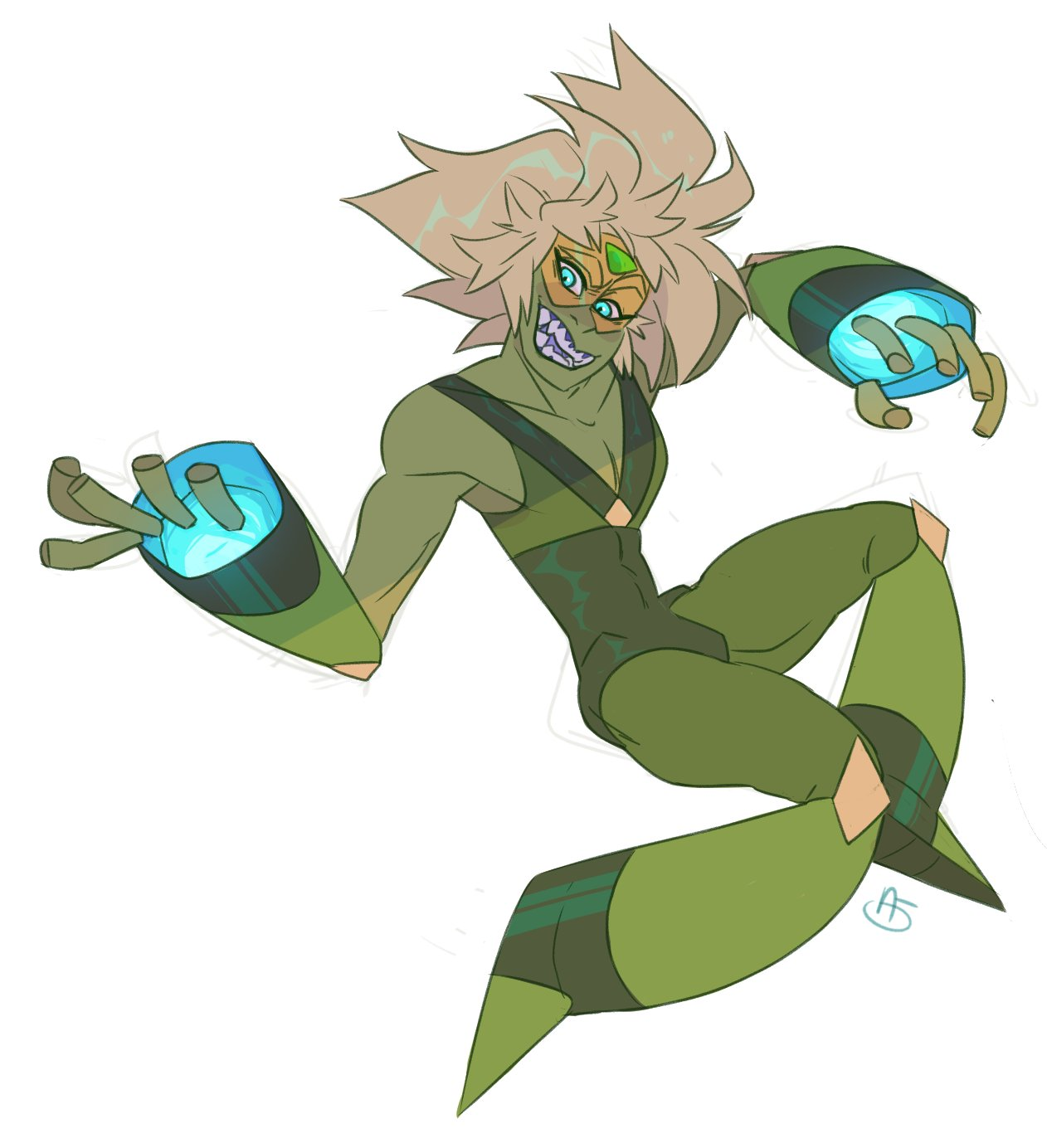 """listen. sometimes i just have to draw peridot all Edgy"""