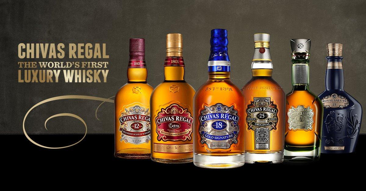 Виски Чивас Ригал (Chivas Regal)