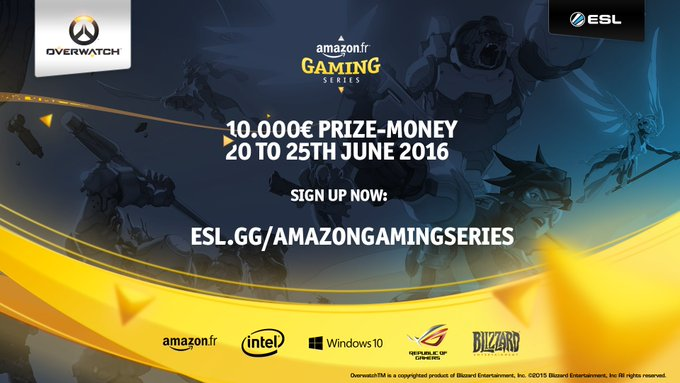 [OW] AMAZON LANCE SON PROPRE TOURNOI Ck_CJ-pWsAAGrxt