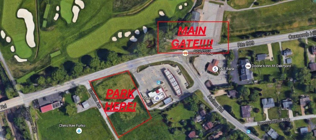 US Open Parking Parkingusopen Twitter - Us open parking lot map