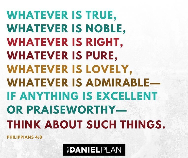 Image result for philippians 4:8 ampc