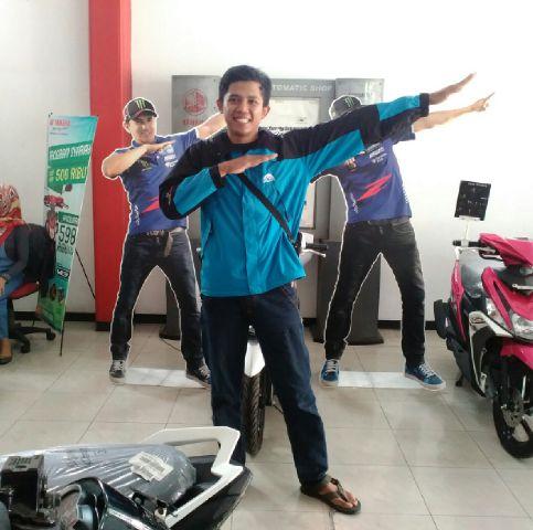 Dana #zagoanselfie #rodamasmotorblitar #blitar @YamahaIndonesia