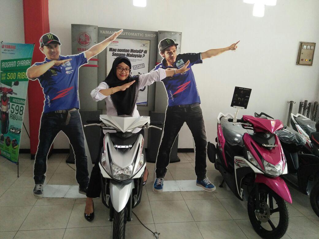 Dian #zagoanselfie #rodamasblitar #blitar @YamahaIndonesia