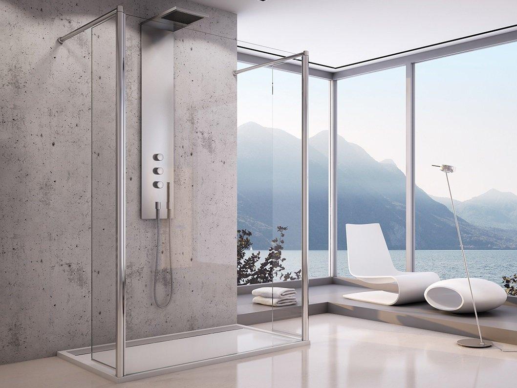 Bad Design Heizung bad design heizung on freistehende duschtrennwand 200 x