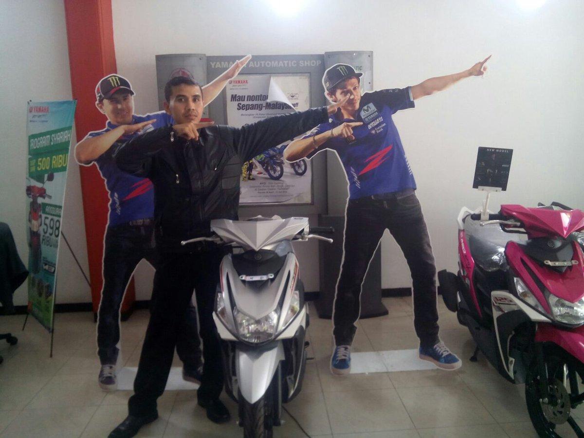 Fahmi #zagoanselfie #rodamasmotorblitar #blitar @YamahaIndonesia
