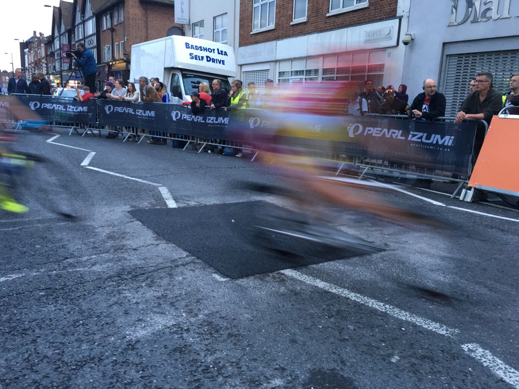 Yep, the racing was fast and furious last night in Croydon. Catch round 9 @TourSeries on @ITV4 tonight https://t.co/dUxGOqpqc0