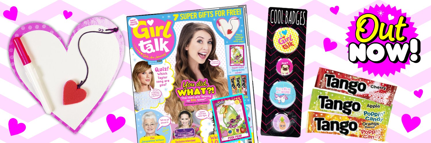 RT @girltalkmags: Brand new #GirlTalk out now! Packed full of celeb confessions, an interview with @KimberlyKWyatt and 7 cool gifts! https:…
