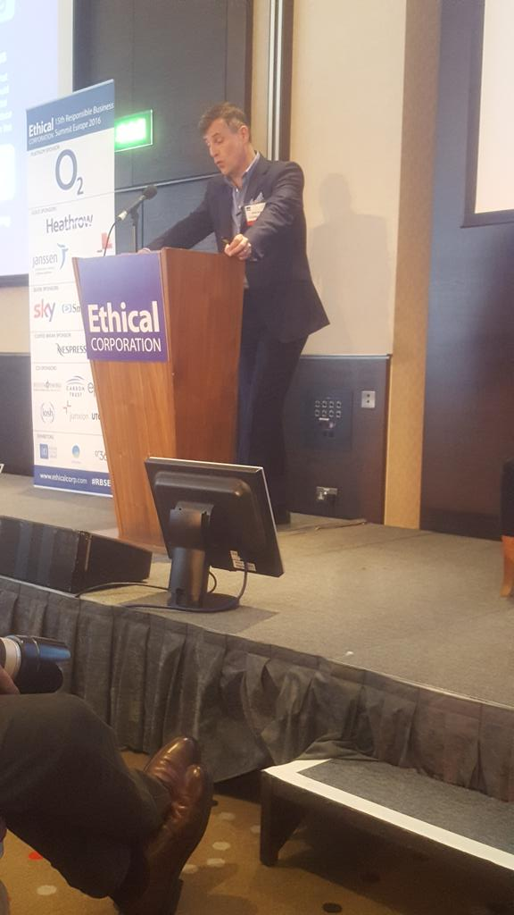 """""""I passionately believe that doing business sustainably is new normal"""" great closing remarks @ronandunneo2 #RBSEU https://t.co/83ivnTX89L"""