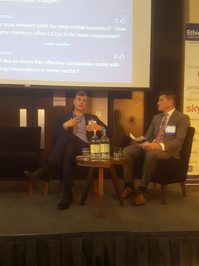 """""""Responsible business should be working with others collaboratively, not just saying 'look at me'"""" @o2 #RBSEU https://t.co/zMX5IXyJEP"""