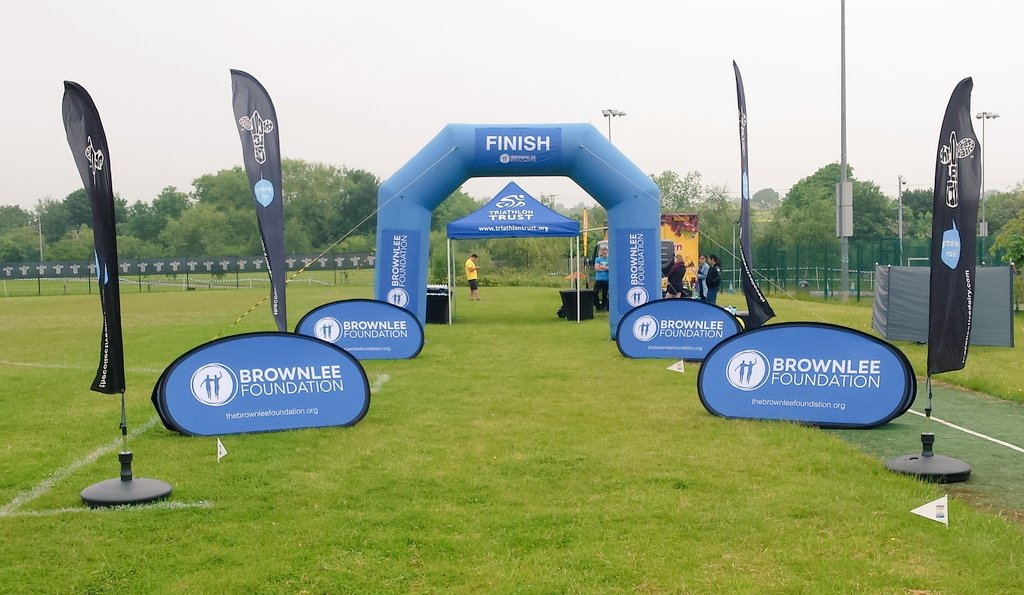 The day 3 finish line of our @brownleefdn is looking pretty awesome @SmeatonAcademy #WTSLeeds