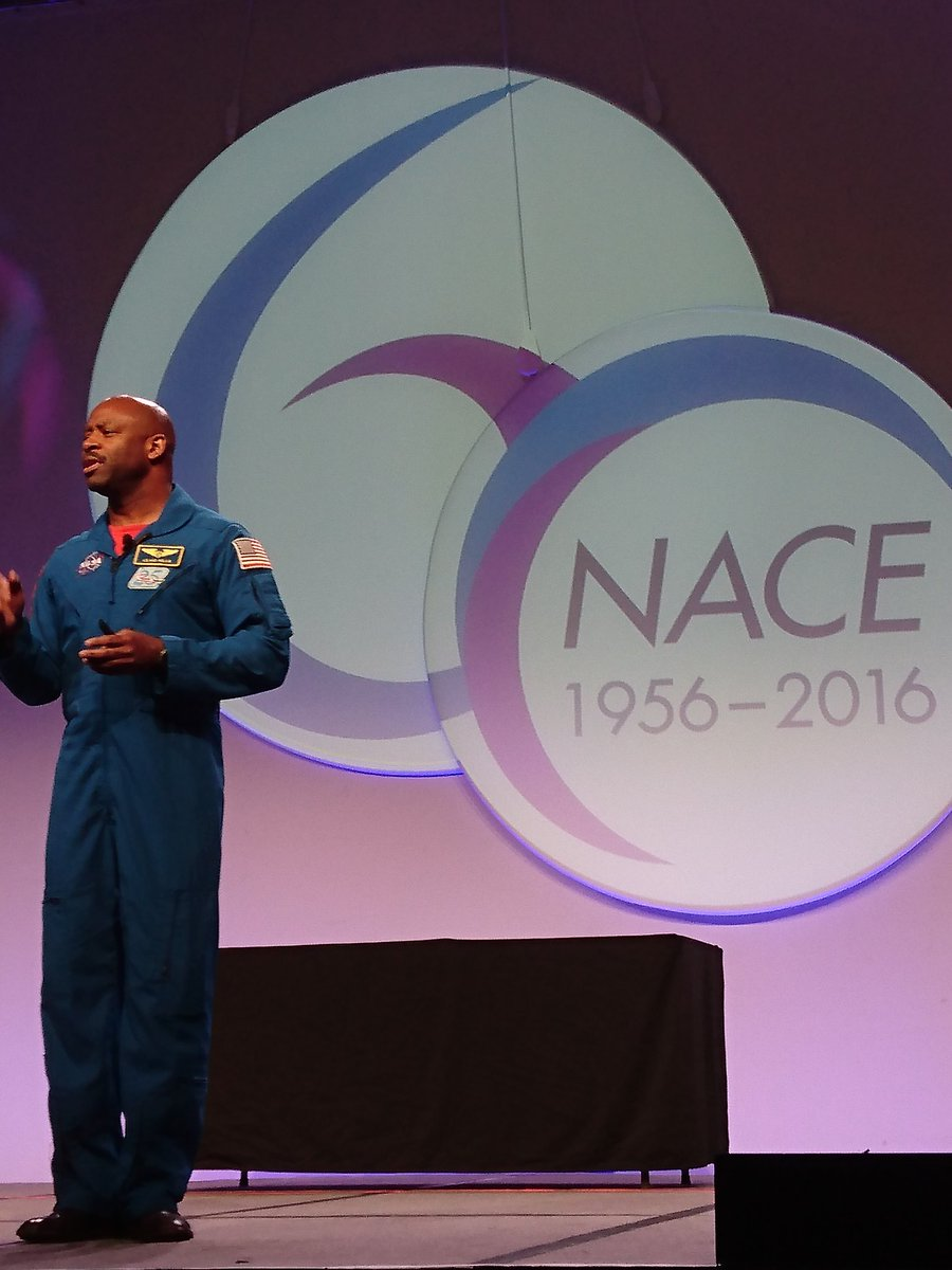 Not every day you sit in front of a NASA astronaut #NACE16 https://t.co/utbuFWU51r