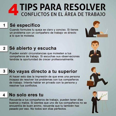 Vida Gerencial På Twitter 4 Tips Para Resolver Conflictos