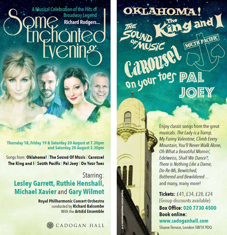 See Lesley Garrett @RuthieHenshall @michaelxavierUK & @garywilmotactor sing the hits of Richard Rodgers @RnH_Org https://t.co/6lKf50DdP8