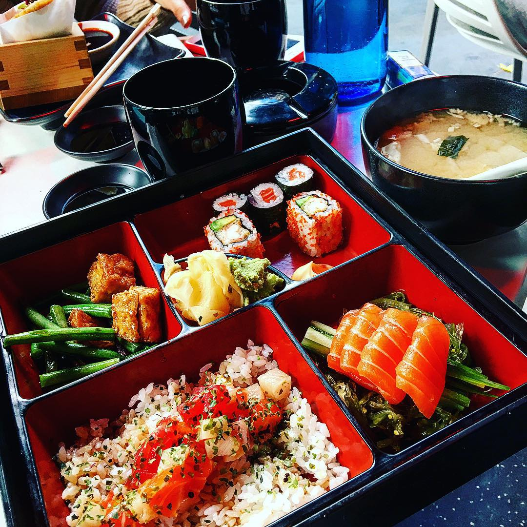 Order #BentoBox, Mon-Fri, 12-15.30pm. Pick from #Sushi, #Meat, #Vegetarian, #Seafood option, with a choice of #soup. https://t.co/idT5jo6tWQ