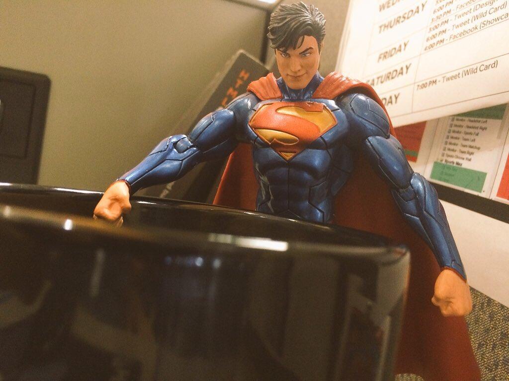 Superman. Want. Coffee. https://t.co/AVyh2x8Crh