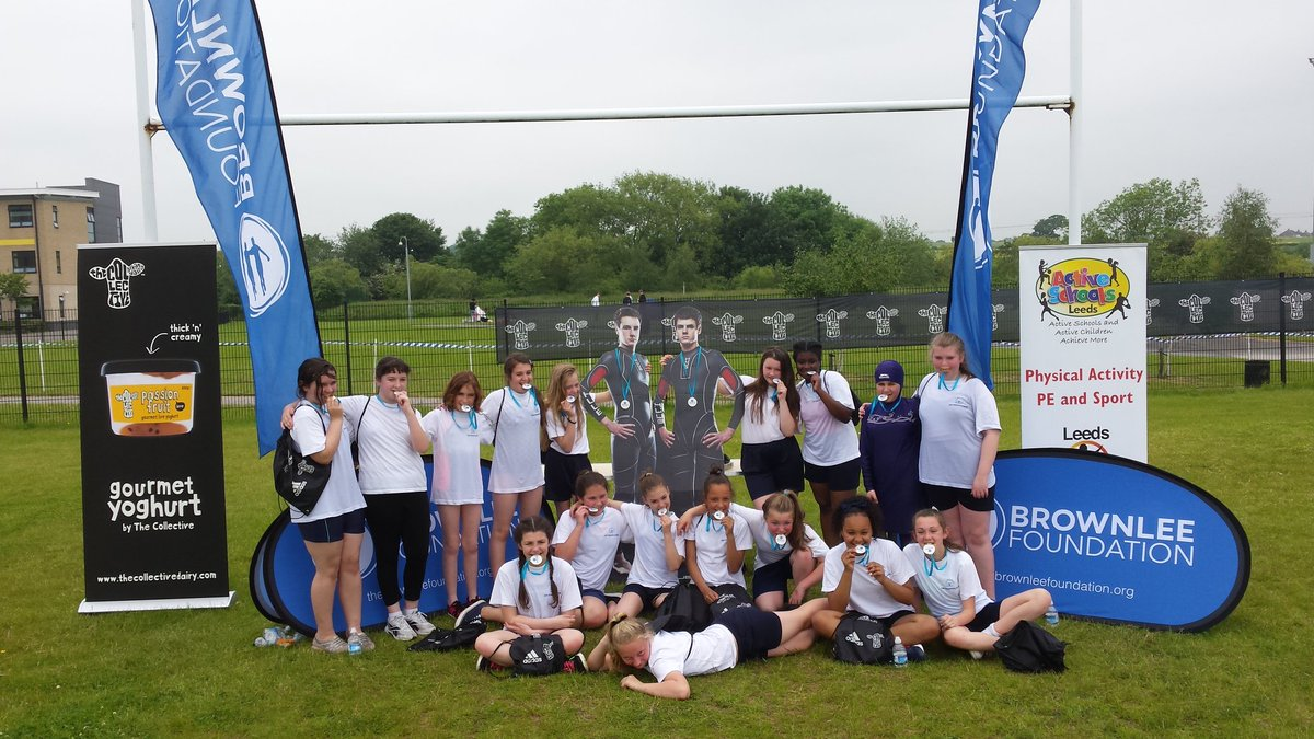 The girls from @SmeatonAcademy loved their @brownleefdn experience today. @UnitedLearning @UnitedSport1