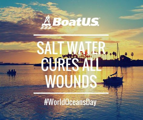 This day of celebration reminds us to take care of our oceans so we can have a safe place to boat! #WorldOceansDay https://t.co/EksRp8fwL3