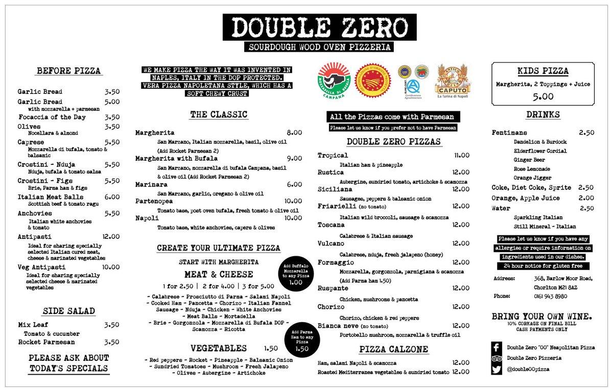 double zero pizzeria double00pizza twitter. Black Bedroom Furniture Sets. Home Design Ideas