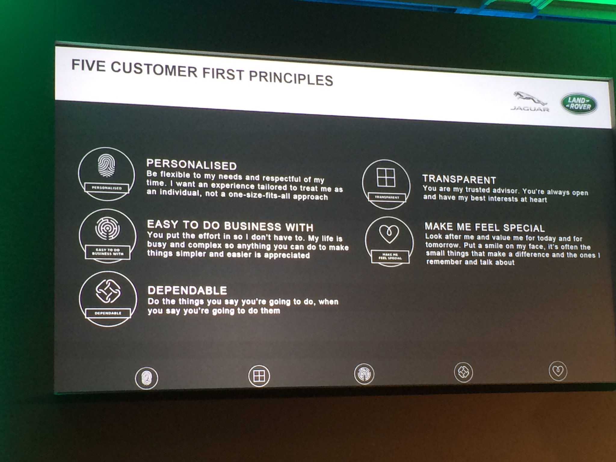 Nigel Fenwick On Twitter Quot Five Customer First Principles