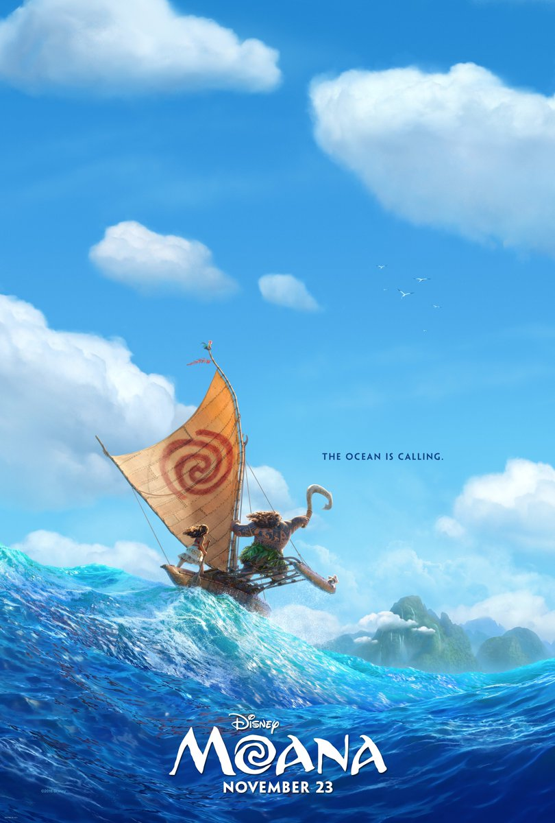 The First Disney's Moana Poster Revealed 1