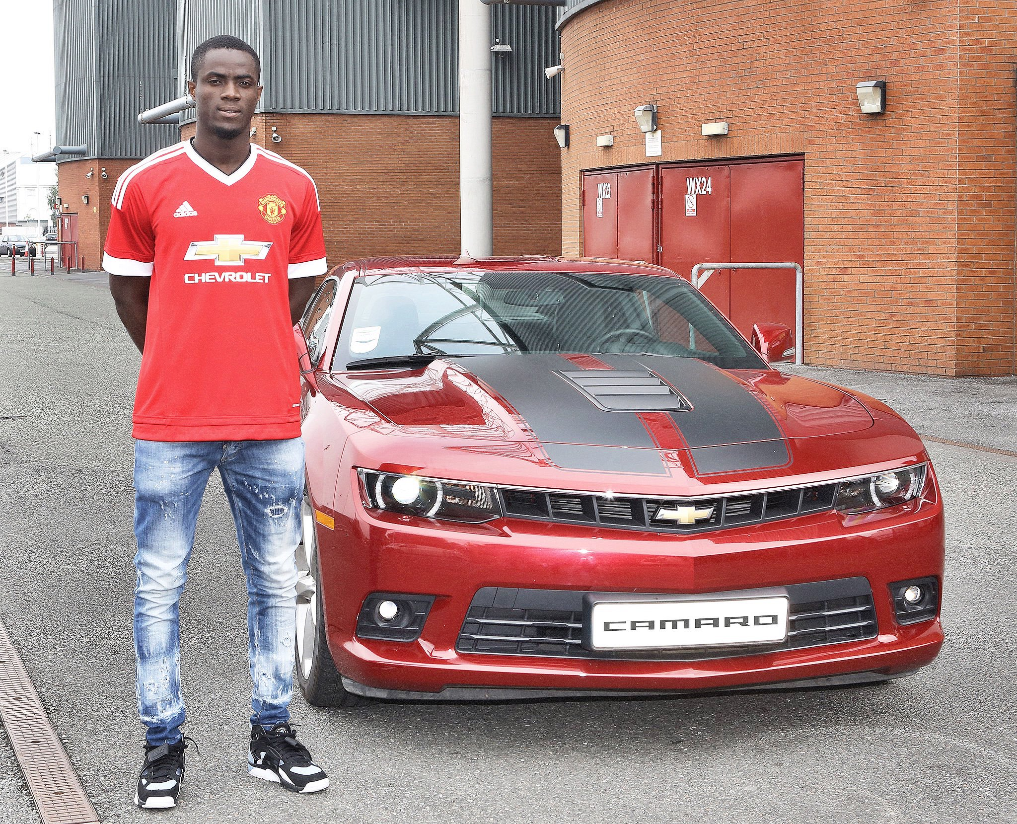 "Man Utd Update on Twitter ""Eric Bailly with his new car given to"