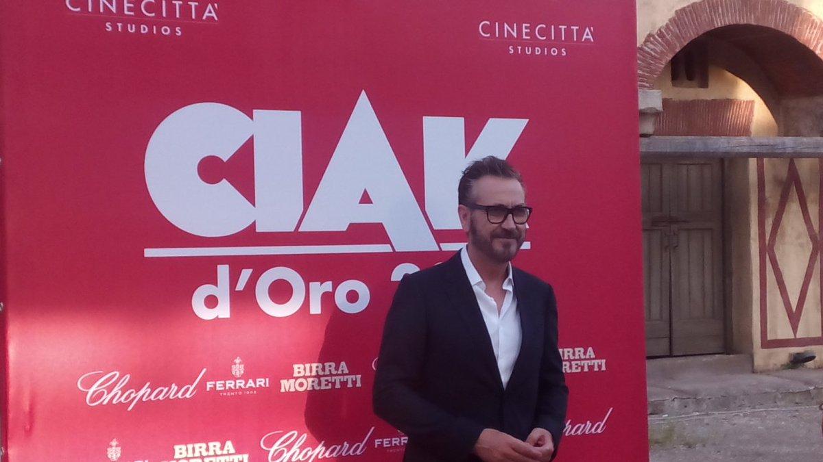 Marco Giallini ai Ciak d'oro 2016