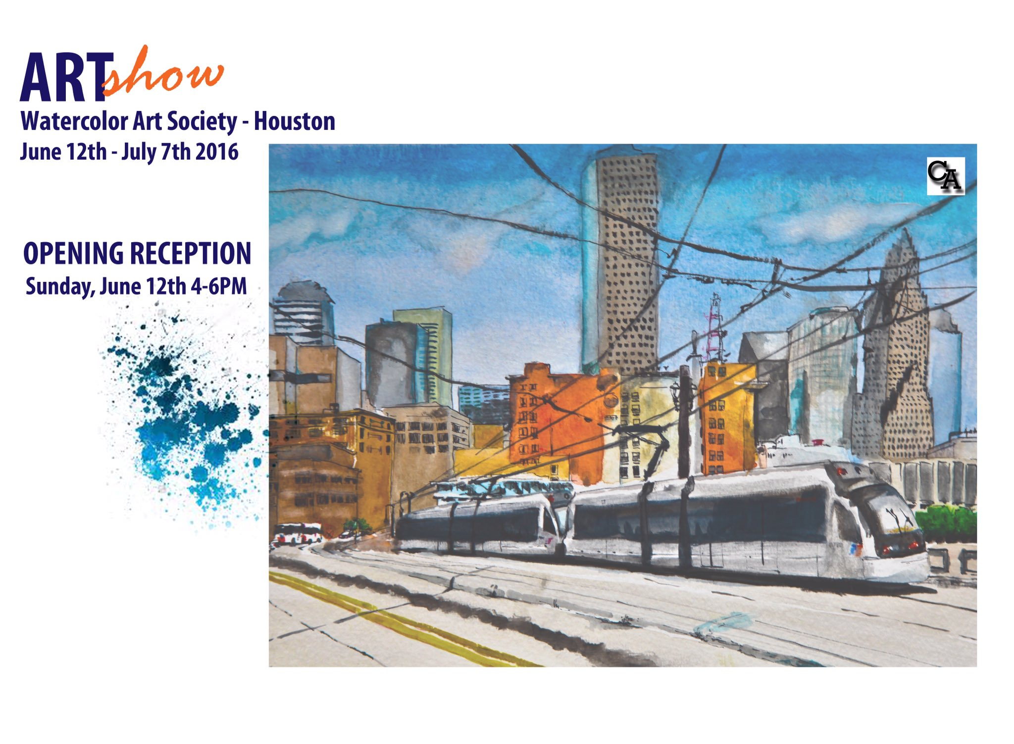 Watercolor art society houston tx - Cedric Akue On Twitter Come Check Out My Work During An Exhibition Presented By Wash At 1601 W Alabama St Houston Texas 77006 Https T Co 8wgomoyvfk