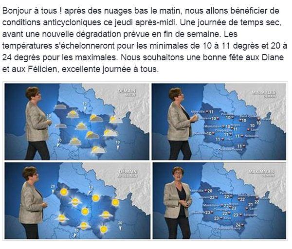 Lla Météo Du Jour France 3 Picardie Scoopnest