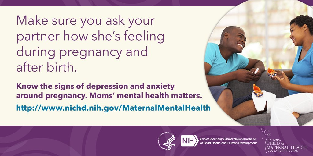 Men - Your support during your partners pregnancy and after birth is critical
