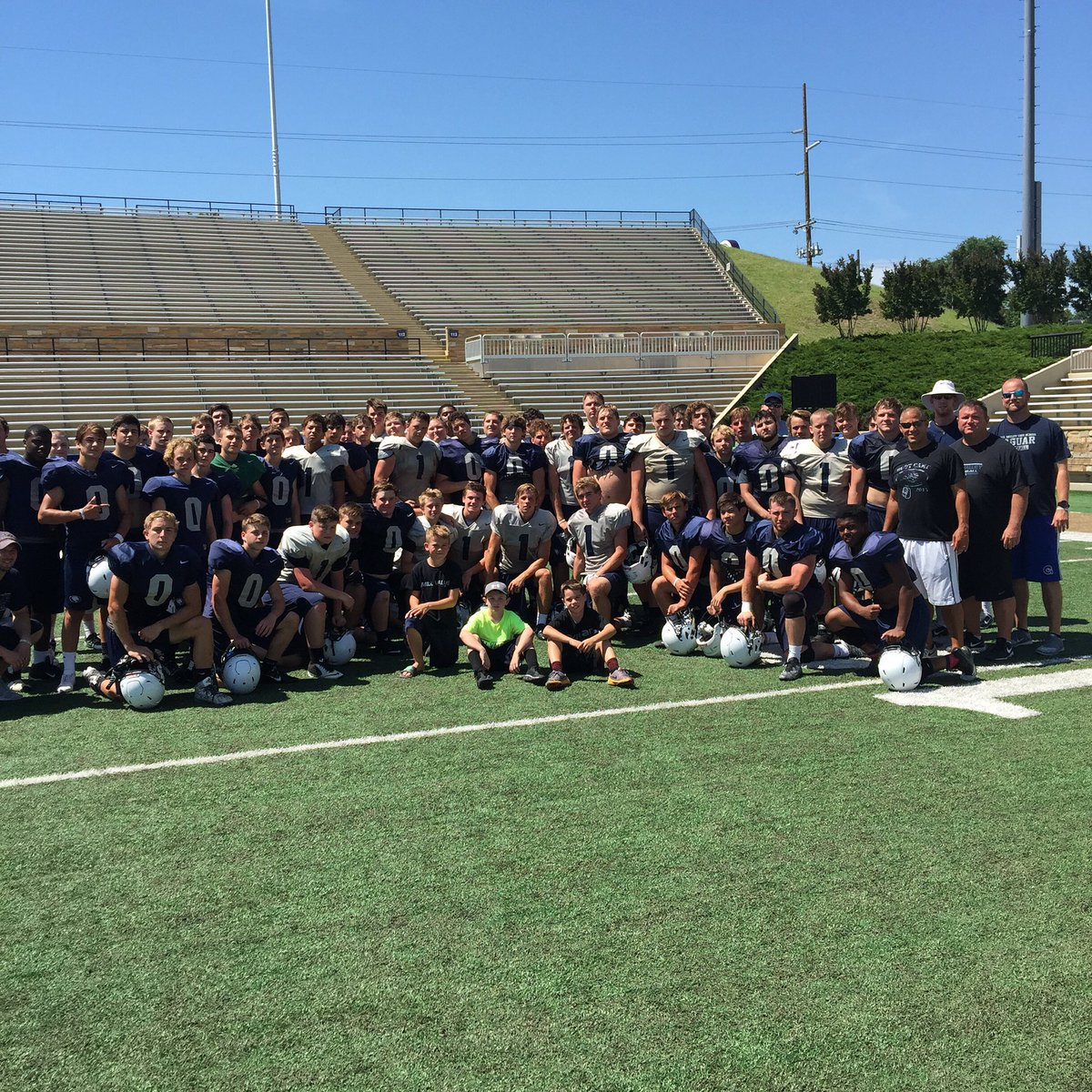 Mill valley football on twitter great finish to for Valley mill summer camp