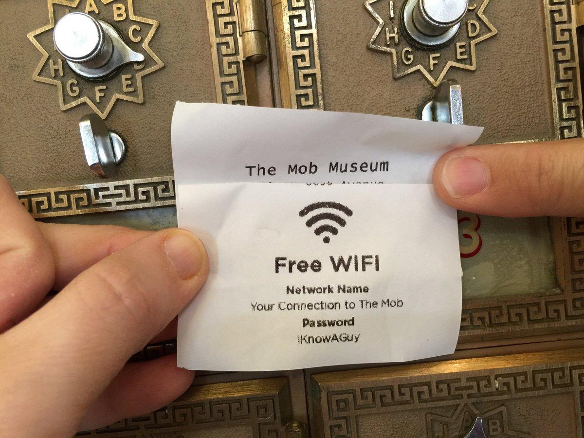 Best wifi password ever! #MobMuseum https://t.co/LWSZylFf6z