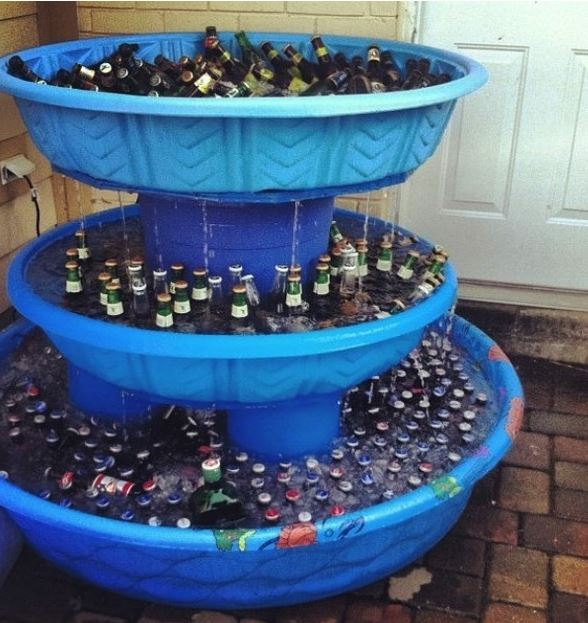 Tailgate hack: Better than those champagne fountains. #tailgating https://t.co/VBTnOSNVdS