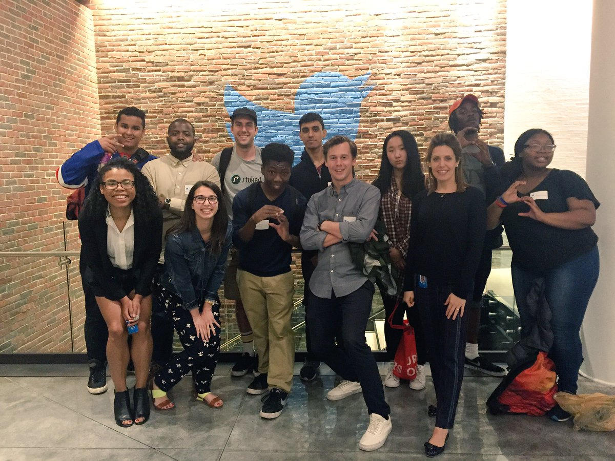 .@TwitterNYC was thrilled to host @STOKEDorg students who asked many thought-provoking questions! Thx for coming by! https://t.co/K6C6EbbEzH
