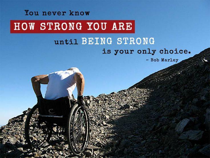 You never know how strong you are until being strong is your only choice! - Bob Marley #ability #IamAble<br>http://pic.twitter.com/nK87zQAb8G