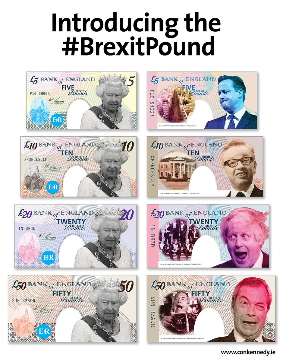 Exclusive look at what the new #BrexitPound will look like. #Brexit https://t.co/sBHt7lgoe5