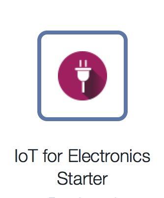 IoT for Electronics Starter