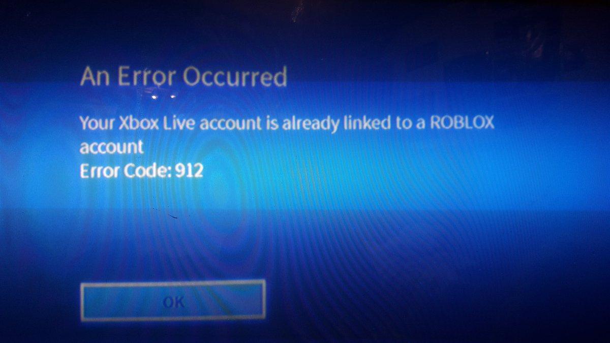 roblox error 110 xbox one