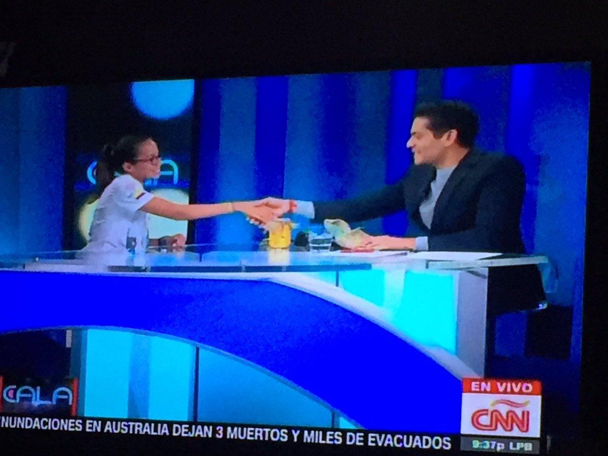 Felicitaciones @KarlaMoralesR !! Un orgullo para este país... @CarlosVictorM #ecuadorunido https://t.co/V94B1fhenE