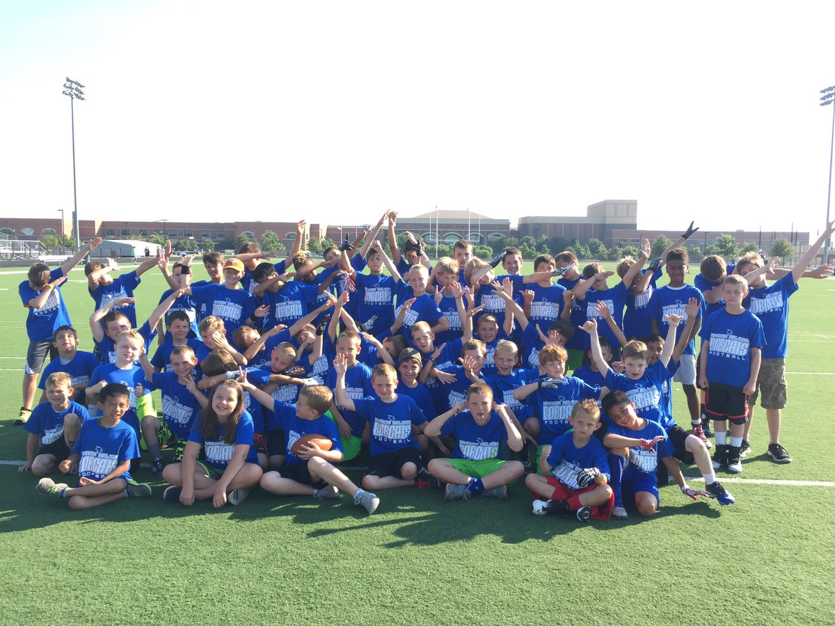 Bnhs Football On Twitter Last Day Of Byron Nelson Football Camp