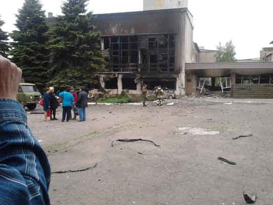 Мгновения войны на Донбассе 09.06.2016