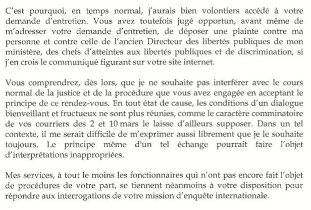 Camille Polloni On Twitter Et La Reponse De Bernard Cazeneuve A La