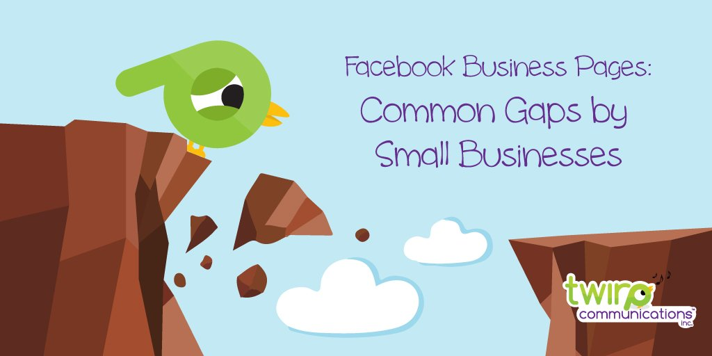 NEW: Facebook Business Page: Common Gaps by Small Businesses https://t.co/XFda6bZaMf https://t.co/oAy6qJLugC
