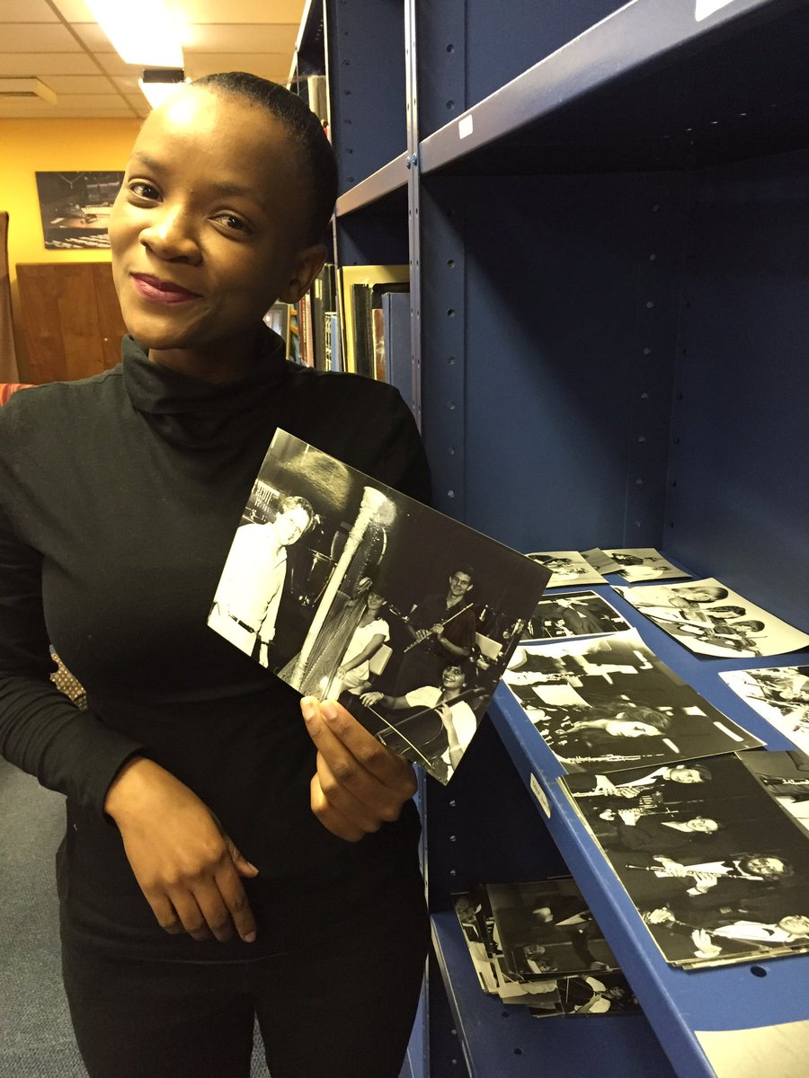 Jackie Wilson @SABCMusicLib showing off photos of the SABC Youth Orchestra #IAD16 #ArchivesRock #TBT https://t.co/w7KEvcmAmo